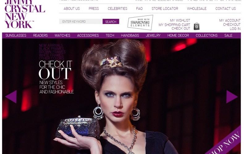 Jimmy Crystal NY - Website Design